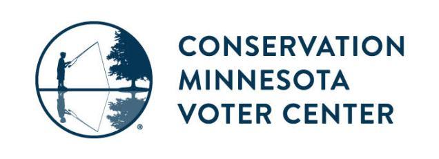 Conservation Minnesota Voter Center logo